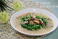粤菜-上汤豆苗(做好上汤的窍门)的做法