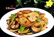 菜鸟一看就能做的美味【青椒香菇土豆片】的做法
