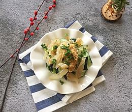 #爽口凉菜,开胃一夏!#凉拌黄瓜海蜇头的做法