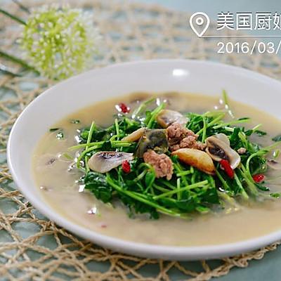 粤菜-上汤豆苗(做好上汤的窍门)