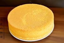 十寸戚风蛋糕的做法