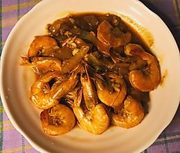 黄油焖虾的做法