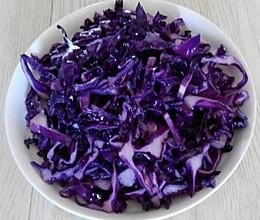 椒油紫甘蓝的做法