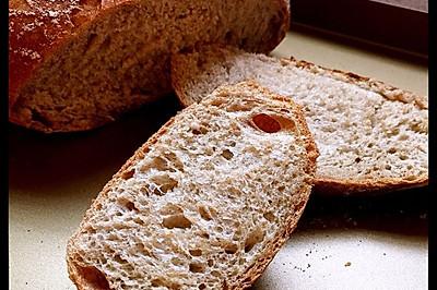 经典欧式面包——乡村面包