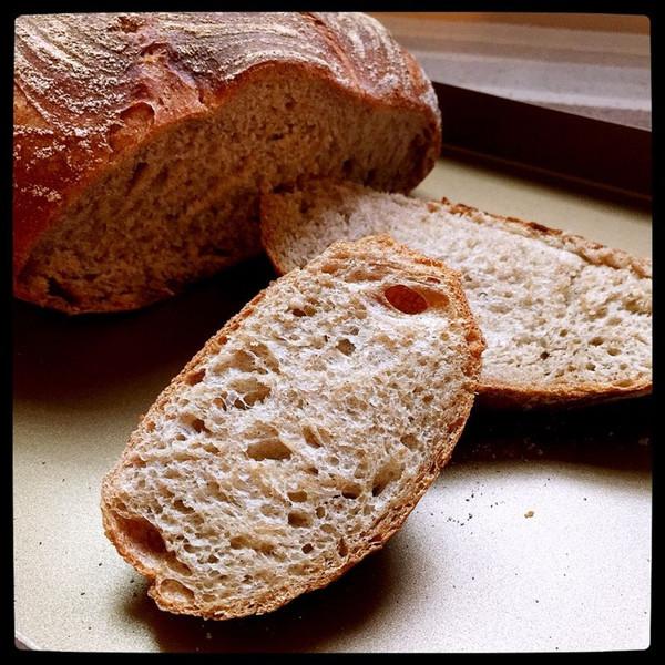 经典欧式面包——乡村面包的做法