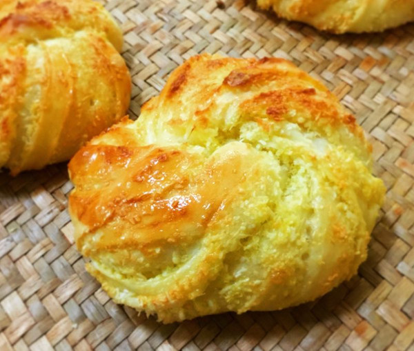 大吃一金椰蓉面包