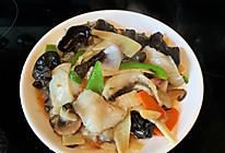 江南小菜冬笋黑木耳炒鱼片的做法