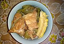 丝瓜玉米杂骨汤的做法
