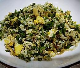 青椒瑶柱鸡蛋炒饭的做法