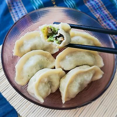 西葫芦香菇蒸饺