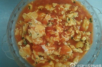 西红柿酱炒蛋
