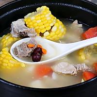 健脾养胃山药玉米排骨汤的做法图解10