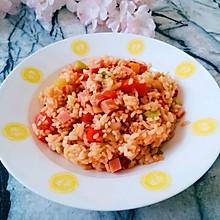 番茄燜飯#快手又營養,我家的冬日必備菜品#