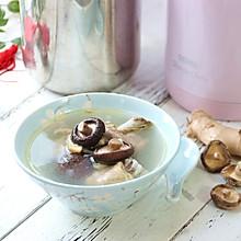 膳魔师焖烧锅菜谱——瑶柱香菇鸡汤