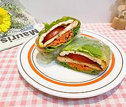 蔬菜三明治关晓彤同款的做法