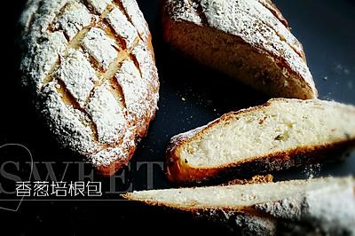 香葱培根面包#我的烘焙不将就#