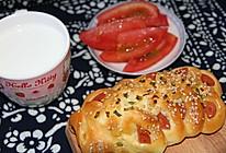 香葱火腿肠面包的做法