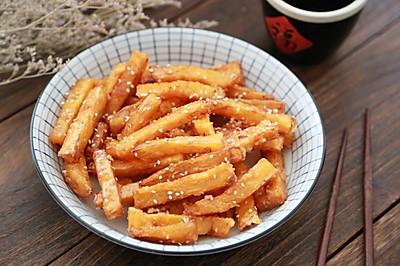 芝麻红薯条