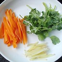 -小白菜肉丸汤#平衡美食大作战#的做法图解4
