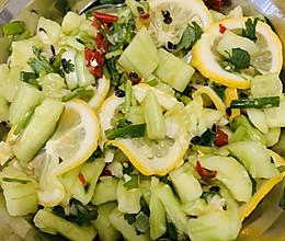 傣味柠檬黄瓜的做法