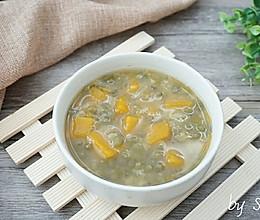 【养生粥】绿豆南瓜粥的做法
