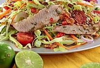 泰式烤猪颈肉色拉的做法