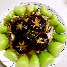 香菇扒菜胆