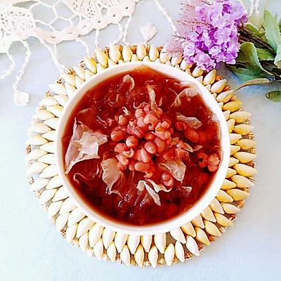 红豆薏仁银耳汤~美容祛湿