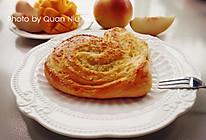 椰蓉心形面包的做法