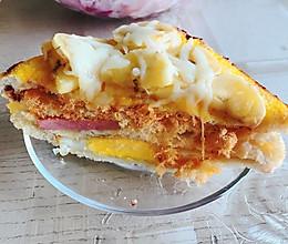 豪华早餐三明治---烤箱版西多士的做法