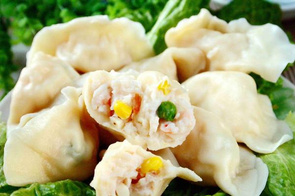 虾仁饺子的做法