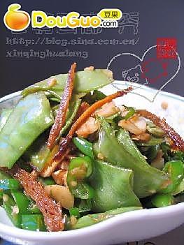 鱼香扁豆的做法