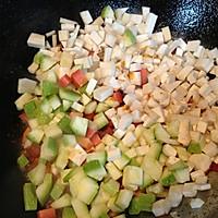 杏鲍菇杂蔬炸酱面  的做法图解3