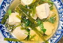 刷脂海带豆腐汤的做法