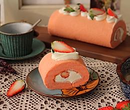 红丝绒草莓蛋糕的做法