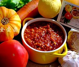 意大利肉酱面的——酱的做法
