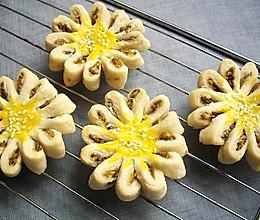 绿豆沙菊花酥的做法