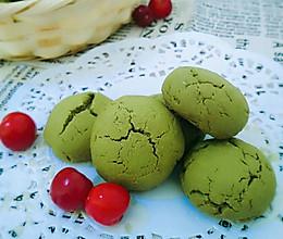抹茶蔓越莓麻薯曲奇#有颜值的实力派#的做法