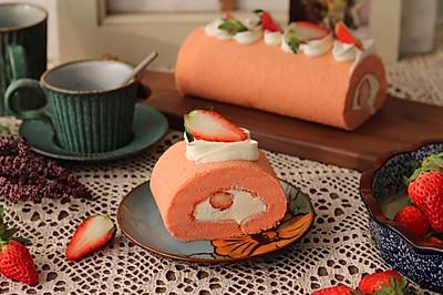 红丝绒草莓蛋糕