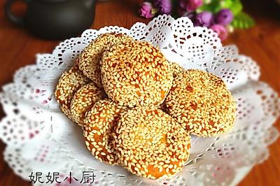 麻香红薯糯米饼