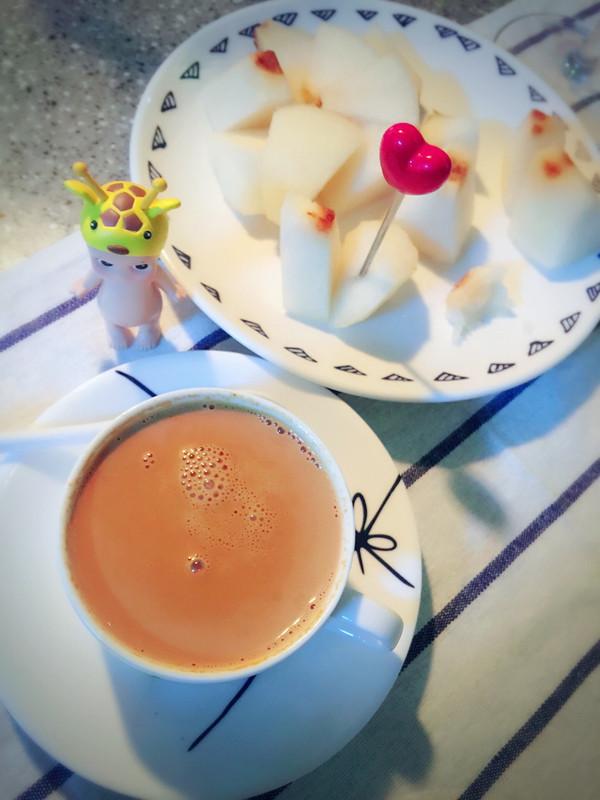 香喷喷的焦糖奶茶的做法