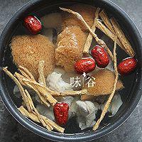 猴头菇炖鸡汤(秋冬养生)的做法图解6