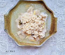 月子餐米酒酿蒸鸡#麦子厨房#美食锅出品的做法