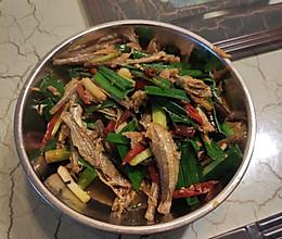 下饭蒜味小鱼干的做法