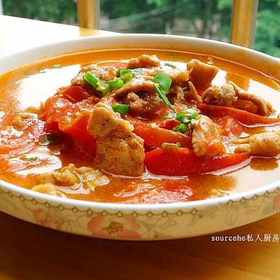 下饭菜,黑胡椒西红柿瘦肉