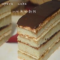 法式甜点欧培拉蛋糕的做法图解18
