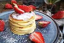 酸奶松饼#换着花样吃早餐#的做法
