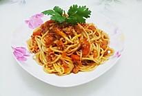 番茄肉酱意大利面的做法