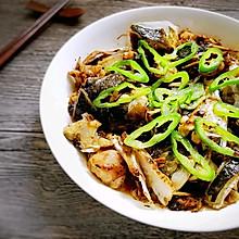 蒜香豆豉蒸鱼头#给老爸做道菜#