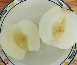 冰糖蜂蜜蒸梨(祛痰止咳)的做法